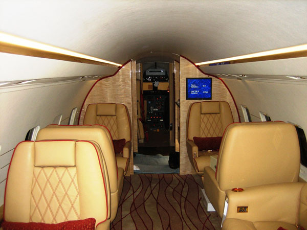 Private Jet Interior Refurbishment