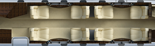 cessna seating layout