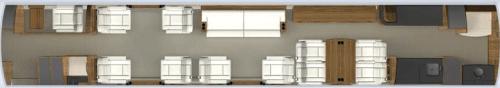 Gulfstream seating layout